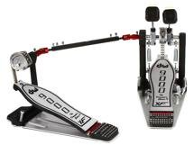 DW 9000 Series Pedal - Double - Extended Footboard