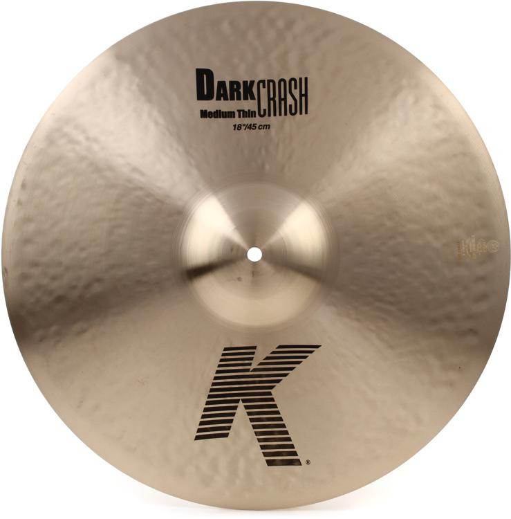 Zildjian K Dark Crash Medium Thin - 18