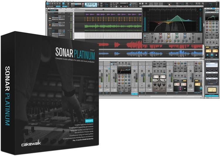 cakewalk sonar artist upgrade from sonar home studio sweetwater. Black Bedroom Furniture Sets. Home Design Ideas