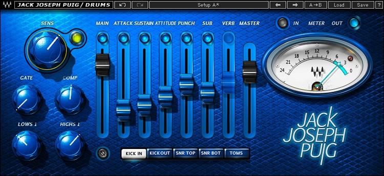 Waves JJP Drums Plug-in image 1