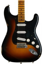 Fender Custom Shop Ancho Poblano Stratocaster - Two tone Sunburst with Maple Fingerboard