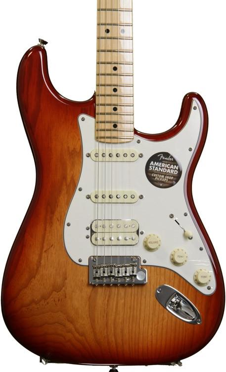 American Standard Stratocaster HSS - Sienna Sunburst, Maple