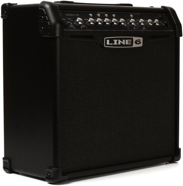line 6 spider iv 30 modeling 30w 1x12 guitar combo amp sweetwater. Black Bedroom Furniture Sets. Home Design Ideas