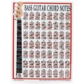 Walrus Productions Mini Laminated Chart, Bass