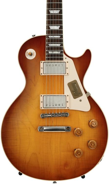 Gibson Custom Standard Historic 1958 Les Paul - Iced Tea VOS image 1