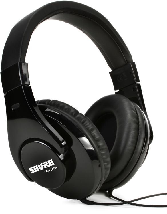 Shure SRH240A Closed-back Headphones image 1