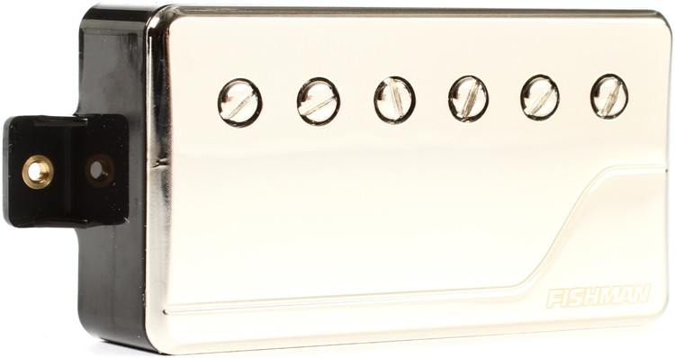 Fishman Fluence Classic Humbucker Pickup Neck Position with Nickel Cover image 1