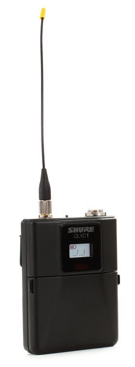 Shure QLXD1 Wireless Bodypack Transmitter - H50 Band, 534-597MHz image 1