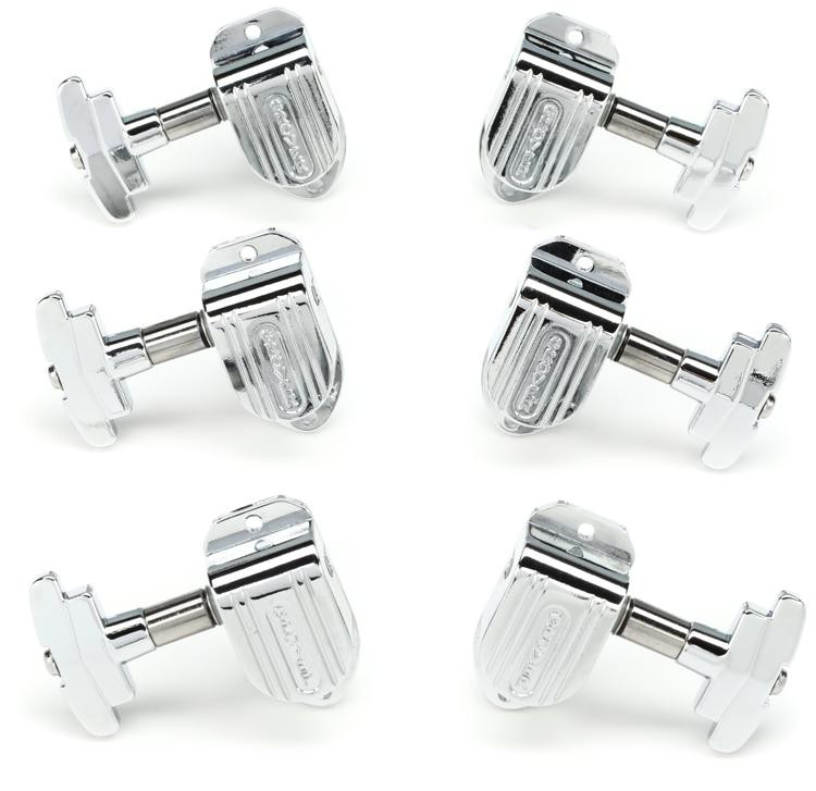 Grover 150C Imperial Tuners - 3+3 - Chrome image 1