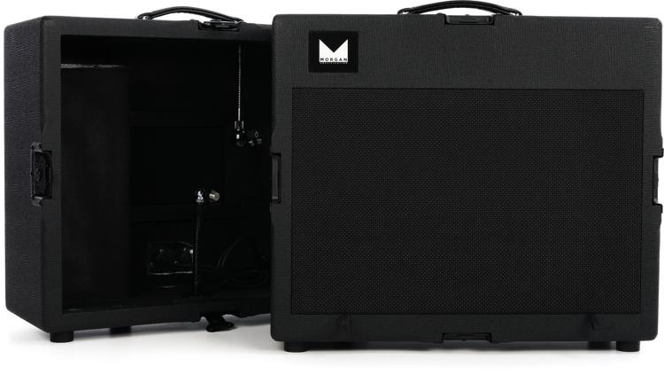 morgan amps chameleon 1x12 isolation and extension cab sweetwater. Black Bedroom Furniture Sets. Home Design Ideas