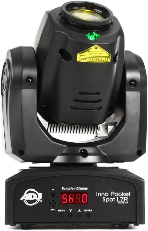 ADJ Inno Pocket Spot LZR 12W LED Moving-Head Spot w/ Laser image 1
