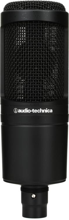 audio technica at2020 cardioid condenser microphone sweetwater