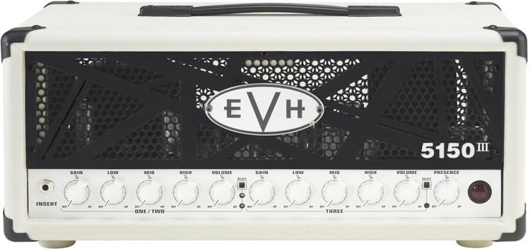 evh 5150 iii 50 watt tube head ivory sweetwater. Black Bedroom Furniture Sets. Home Design Ideas