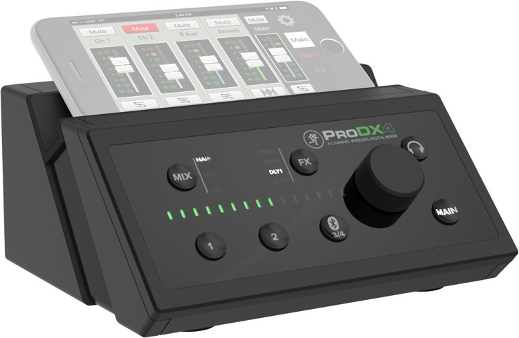mackie prodx4 wireless digital mixer sweetwater. Black Bedroom Furniture Sets. Home Design Ideas