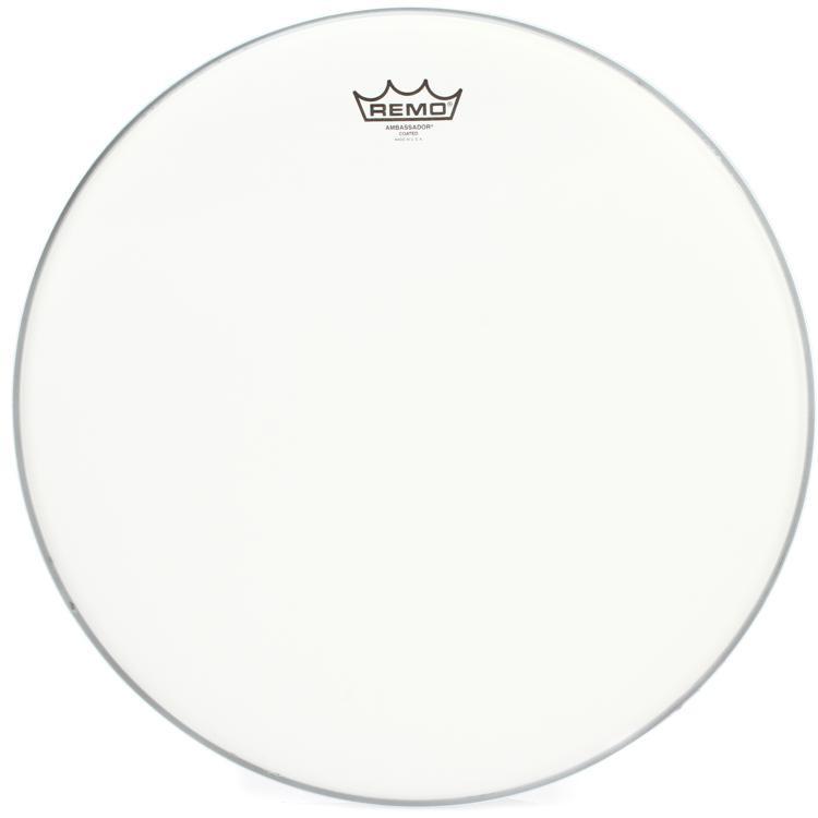 Remo Coated Ambassador Drum Head - 18