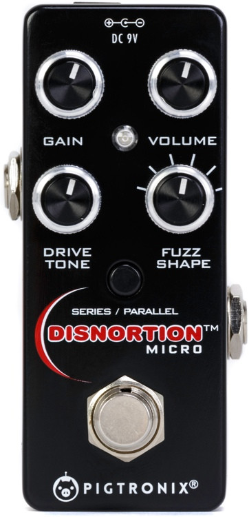 Pigtronix Disnortion Micro Analog Fuzz & Overdrive Pedal image 1