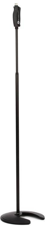 K&M 26075 One-Hand Mic Stand, Stackable - Black image 1
