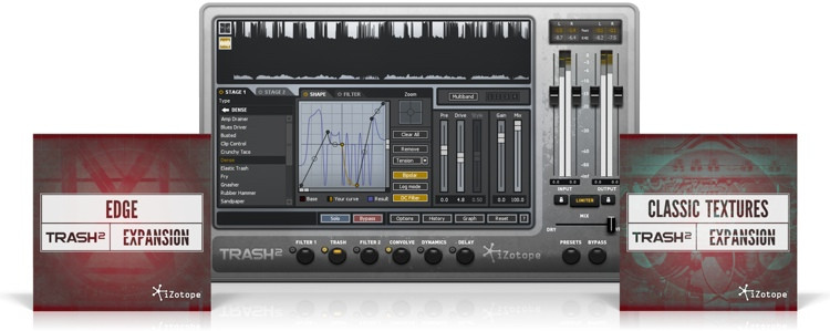 iZotope Trash 2 with Classic Textures and Edge Expansions - Academic Version image 1