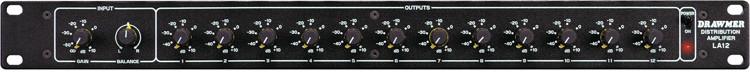 Drawmer LA12 Stereo Distribution Amp image 1