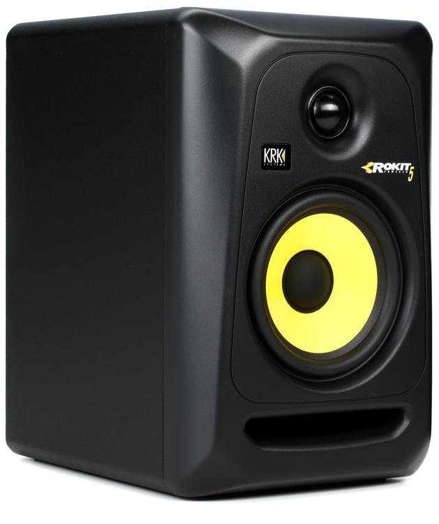 krk rokit 5 g3 5 powered studio monitor sweetwater. Black Bedroom Furniture Sets. Home Design Ideas