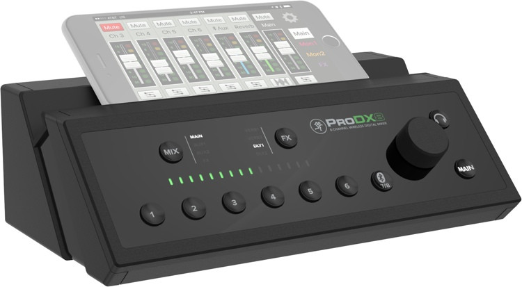 Mackie ProDX8 Wireless Digital Mixer image 1