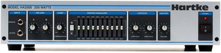 Hartke Model 2500 250-Watt Bass Head image 1