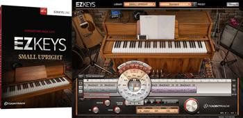 Toontrack EZkeys Small Upright Songwriting Software and Virtual Piano image 1