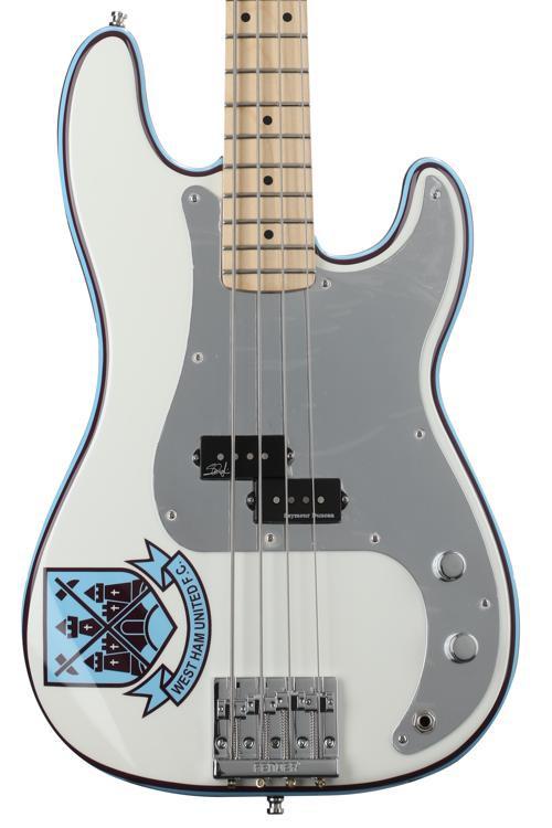 Fender Steve Harris Precision Bass - Olympic White image 1