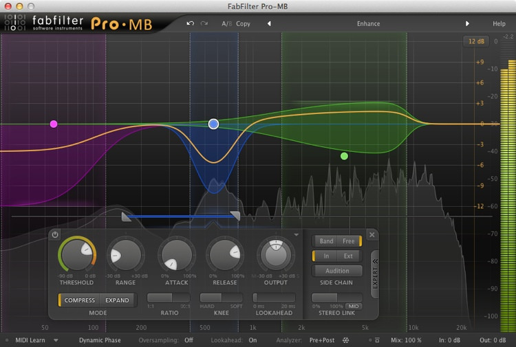 FabFilter Pro-MB Plug-in image 1