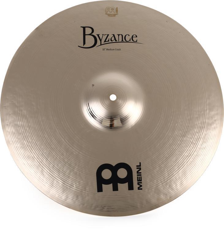 Meinl Cymbals Byzance Brilliant Medium Crash - 18