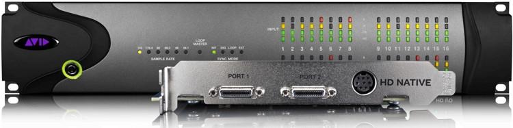 Avid Pro Tools | HD Native + HD I/O 16x16 Analog image 1