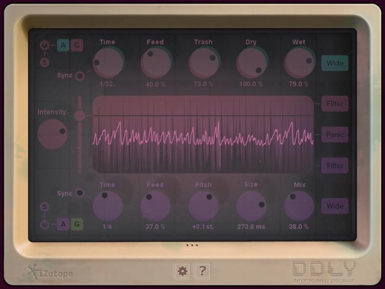 iZotope DDLY Dynamic Delay Plug-in image 1