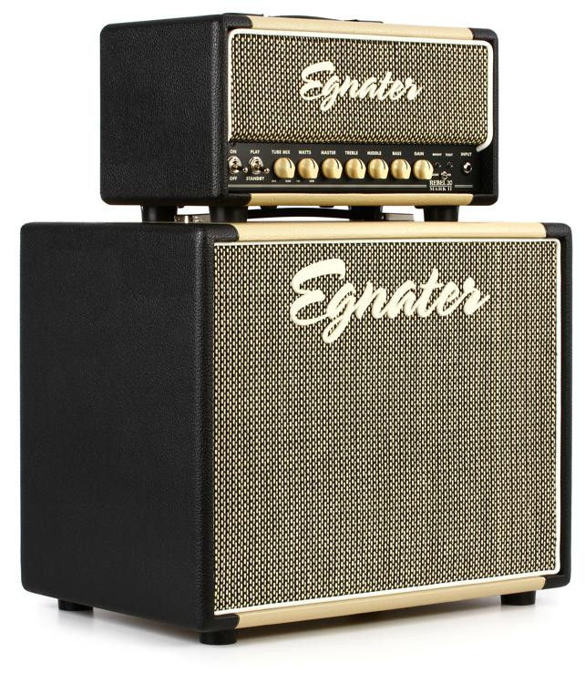 Egnater Rebel-20 Mark II Stack 20-watt Tube Head with 1x12