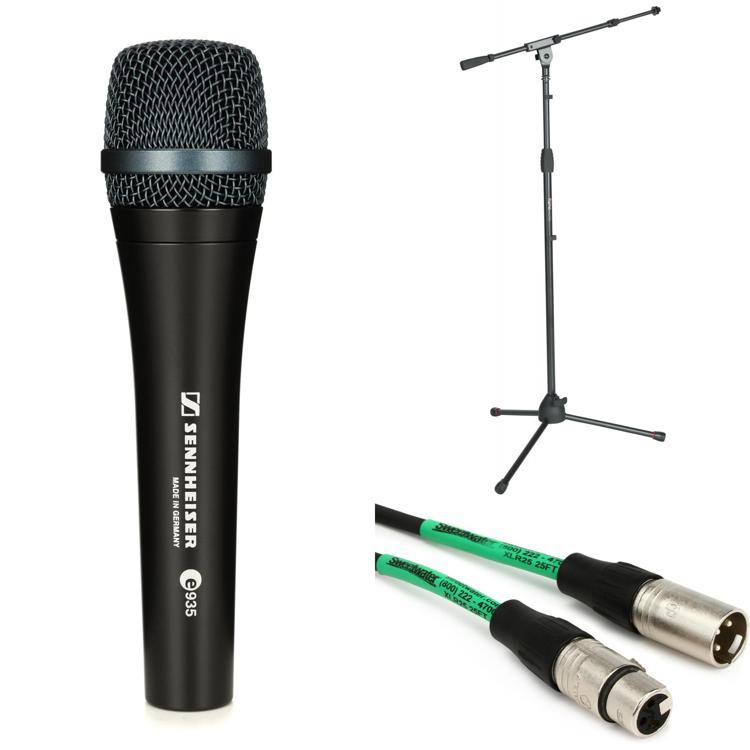 Sennheiser e935 Microphone with Stand and Cable image 1