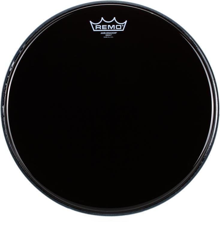 Remo Ebony Ambassador Drum Head - 14