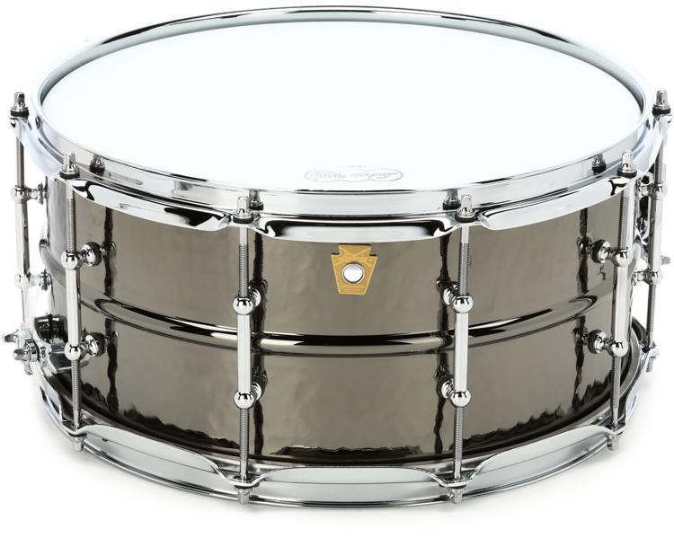 Ludwig Black Beauty Snare Drum - 6.5