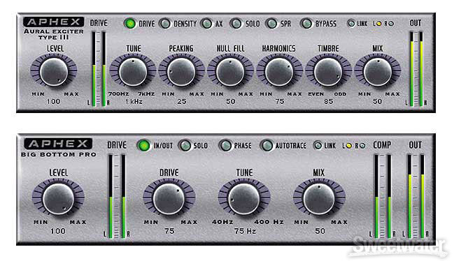 Aphex Aural Exciter and Big Bottom Pro Bundle image 1