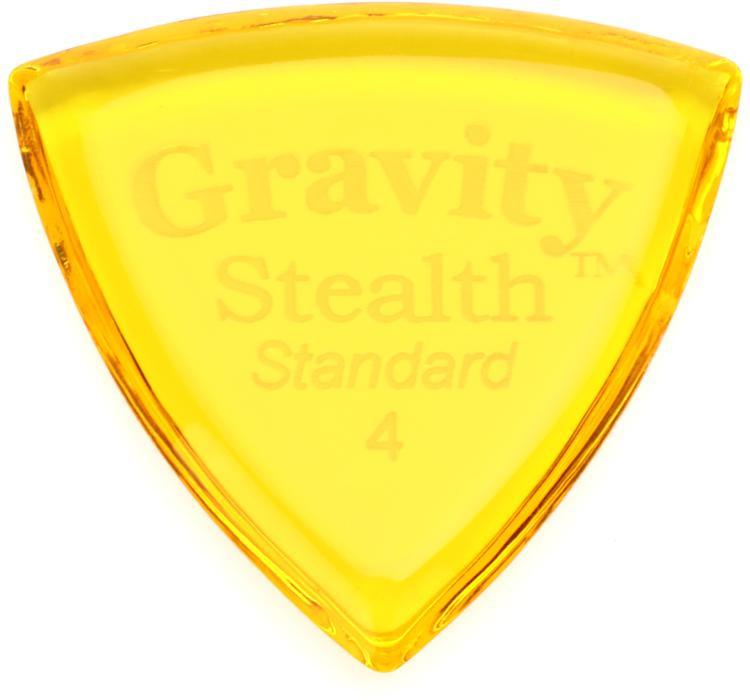 Gravity Picks Stealth - Standard, 4mm, Polished image 1