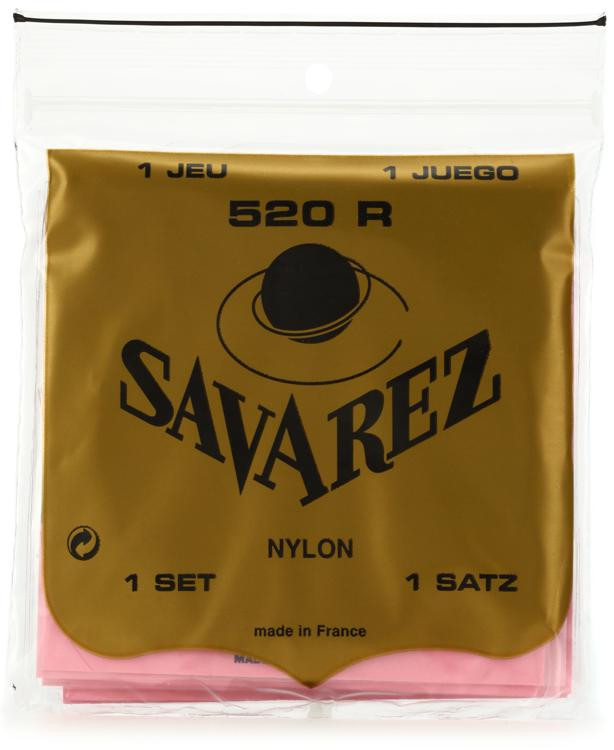 Savarez S.A. 520R Rectified Nylon High Tension Classical Guitar Strings image 1