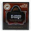 GHS PF145 Stainless Steel 5-String Banjo Strings - .010-.022