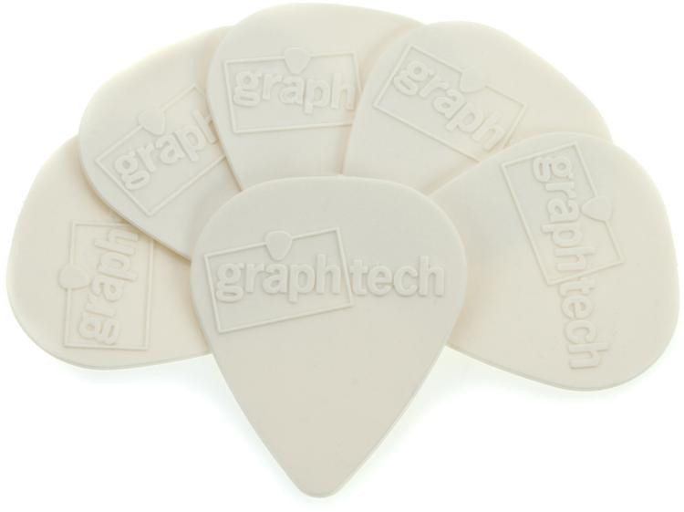 Graph Tech Tusq Standard .68mm Pick - Bright 6-Pack image 1