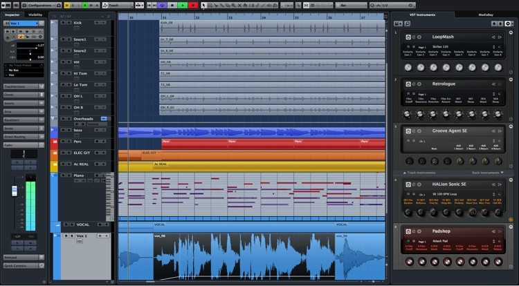 Steinberg Cubase Pro 8.5 DAW Recording Software (boxed) image 1