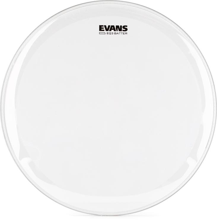 Evans EQ3 Clear Bass Batter Head - 22