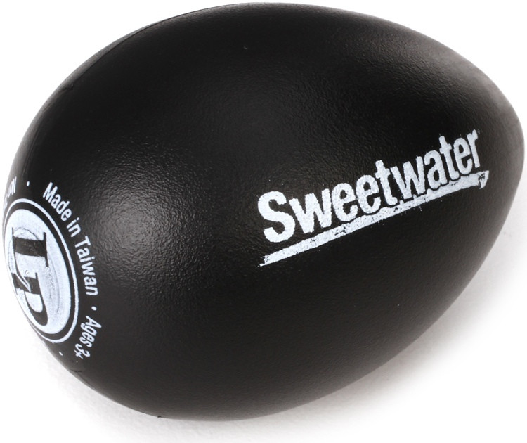 Latin Percussion Sweetwater Egg Shaker - Black image 1