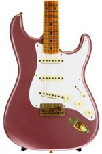 Fender Custom Shop 20th Anniversary Relic Stratocaster Limited Edition - Burgundy Mist Metallic with Maple Fingerboard