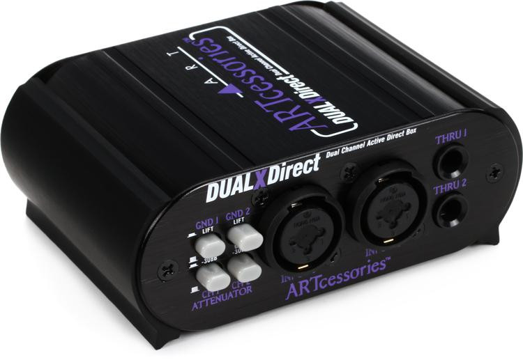 ART DUALXDirect 2-channel Active Instrument Direct Box image 1
