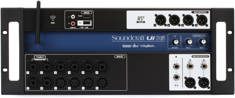 Soundcraft Ui16 Remote-controlled Digital Mixer image 1