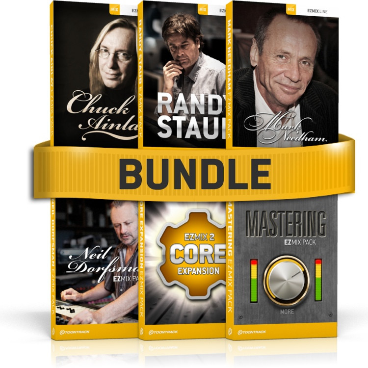 Toontrack EZmix Pack Top Producers 6-Pack image 1
