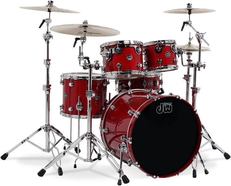 DW Performance Series 5-Piece Shell Pack - 22