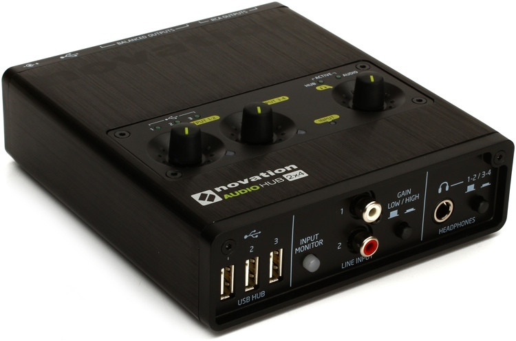Novation Audiohub 2x4 image 1